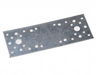Пластина крепежная 200*60*2 мм, оцинк.