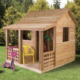 Детский домик из натурального дерева