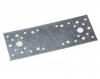 Пластина крепежная 200*100*2 мм, оцинк.