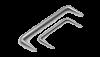 Скоба строительная 10*300 мм